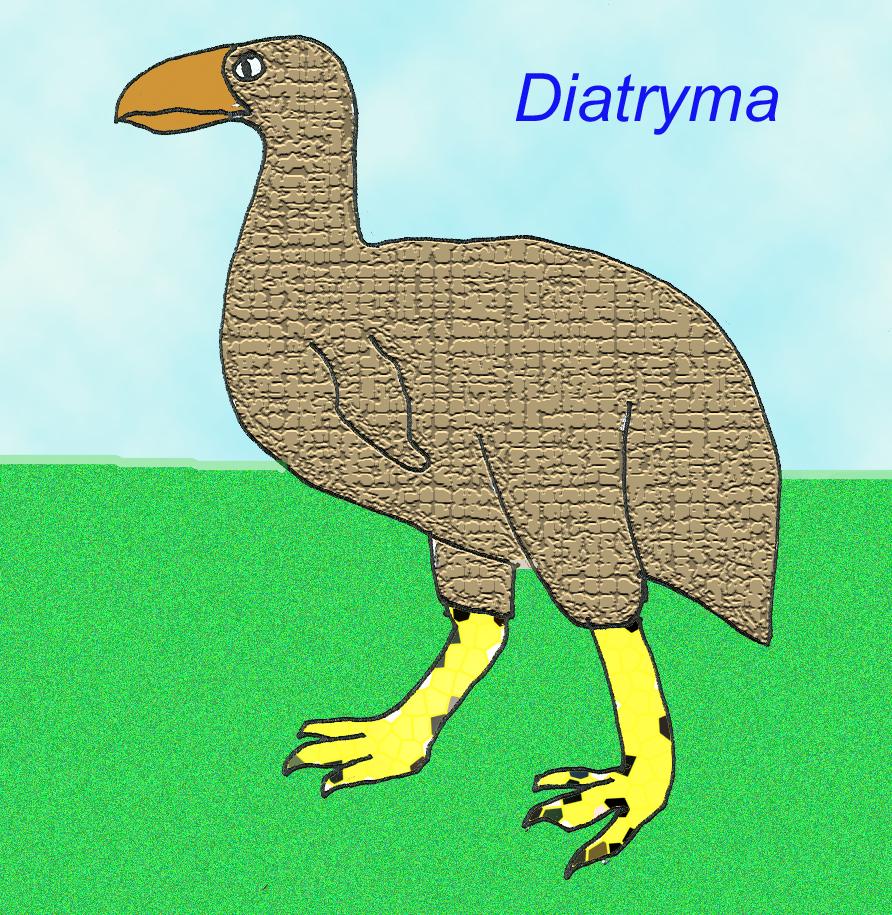 Diatryma Size